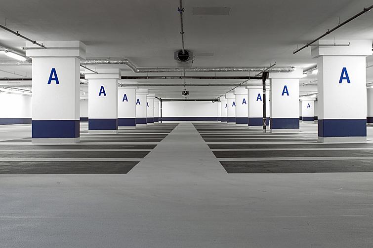 Apcoa myzeil palaisquartier for Weiterbildung grafikdesign